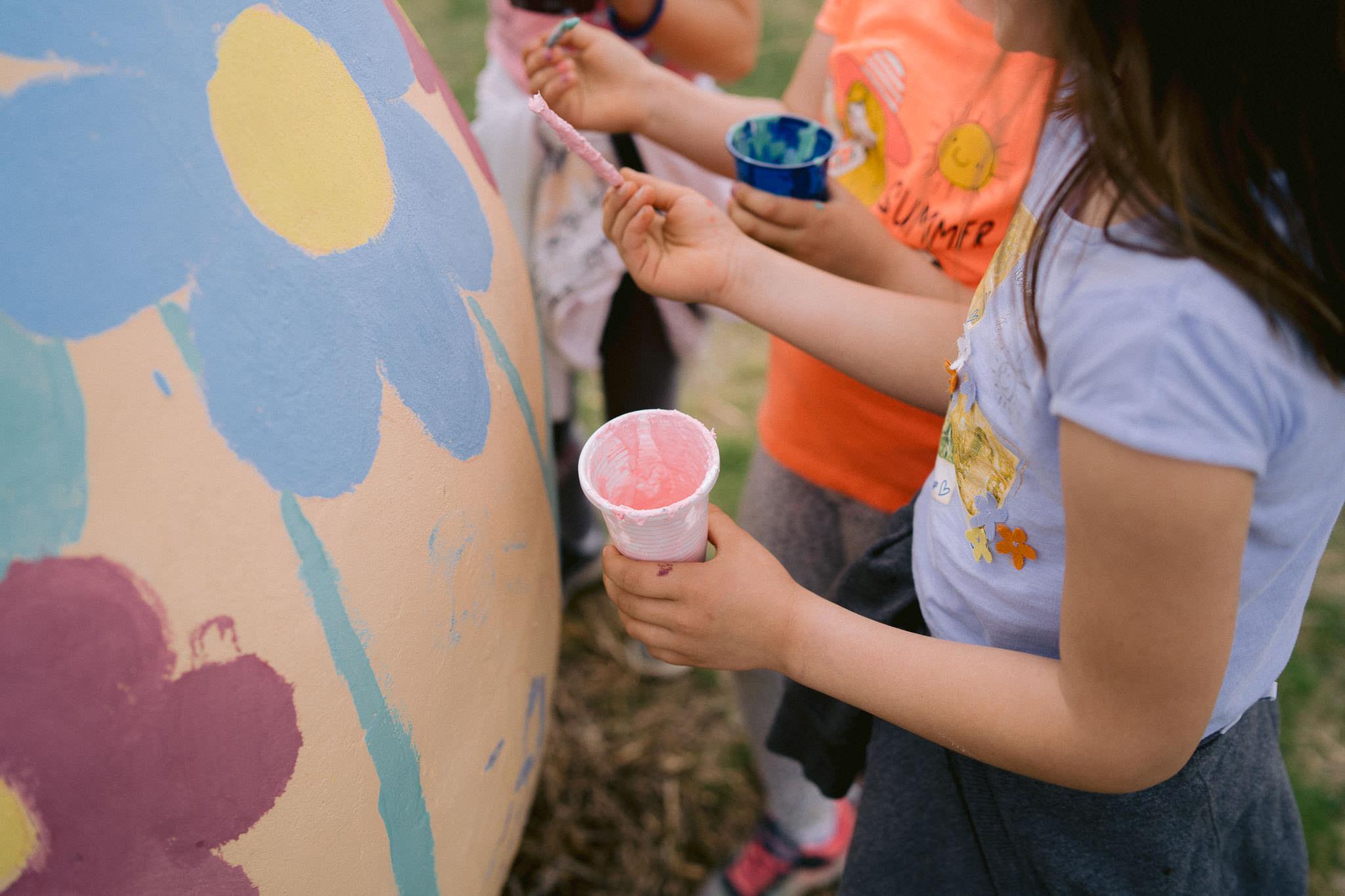 oslikavanje jaja od platna